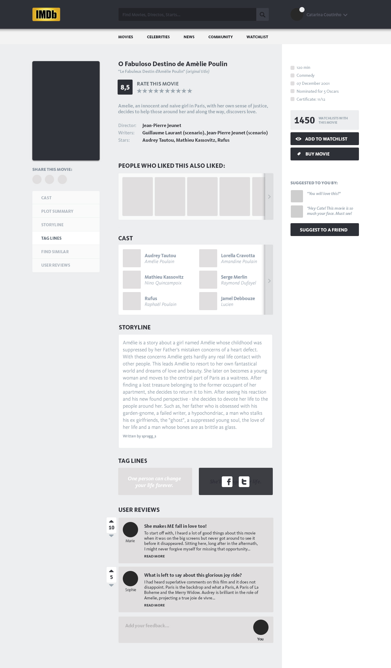 imdb-Redesign-Wireframe